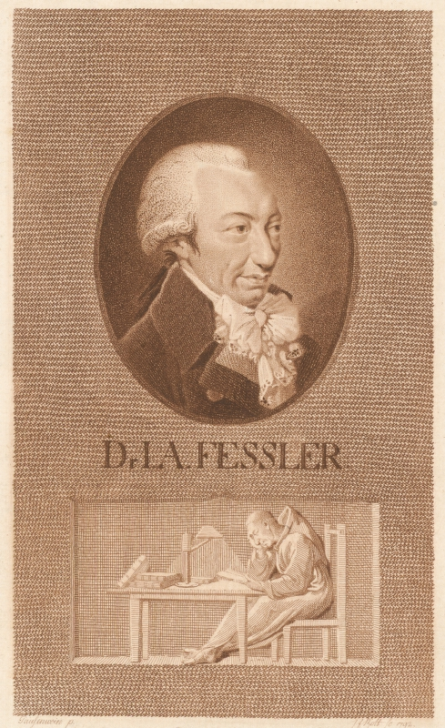 Johann Friedrich Bolt, Pausenwein - Portrét Dr. I. A. Fesslera
