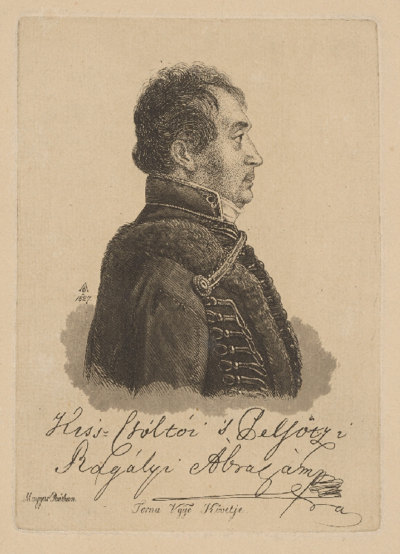 Ferdinand Karl Theodor Lütgendorff - Portrét Rágaliyho