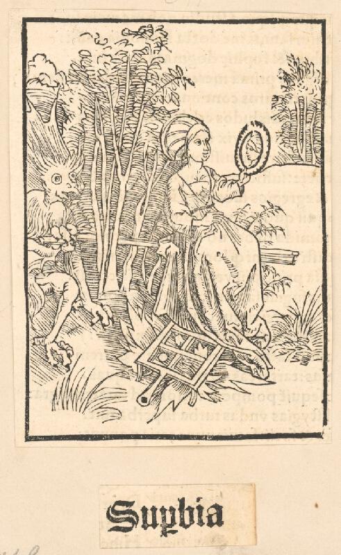 Stredoeurópsky grafik zo 16. storočia - Supbia