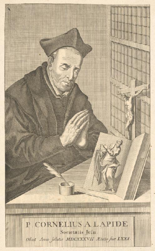 Stredoeurópsky autor z 2. polovice 18. storočia - Páter Cornelius A Lapide