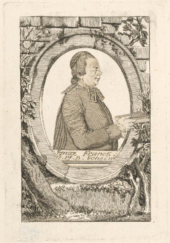 Stredoeurópsky grafik z 18. storočia - Ignaz Franck