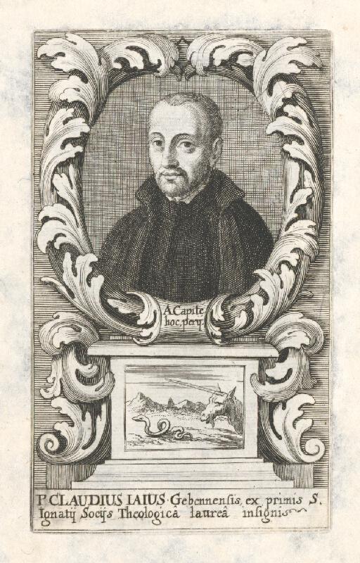 Stredoeurópsky grafik z 18. storočia - Portrét Claudiusa Iausa