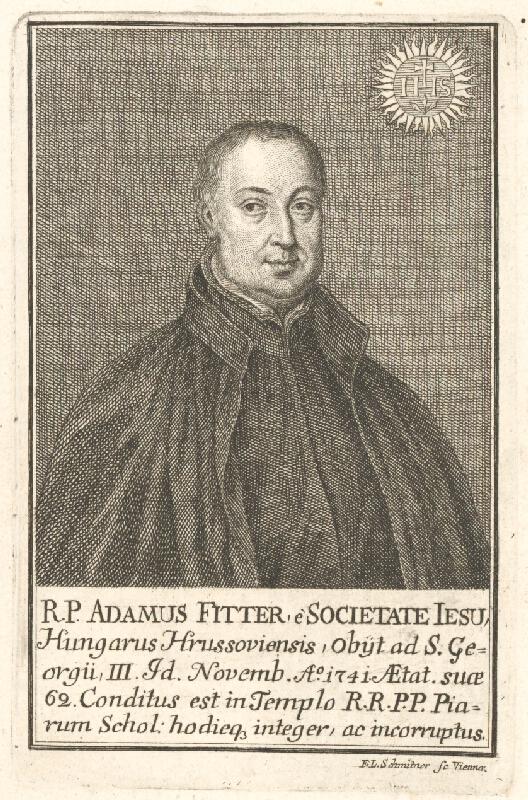 Franz Leopold Schmitner - Portrét Adama Fittera
