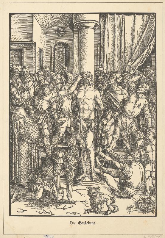 Albrecht Dürer - Mučenie Krista