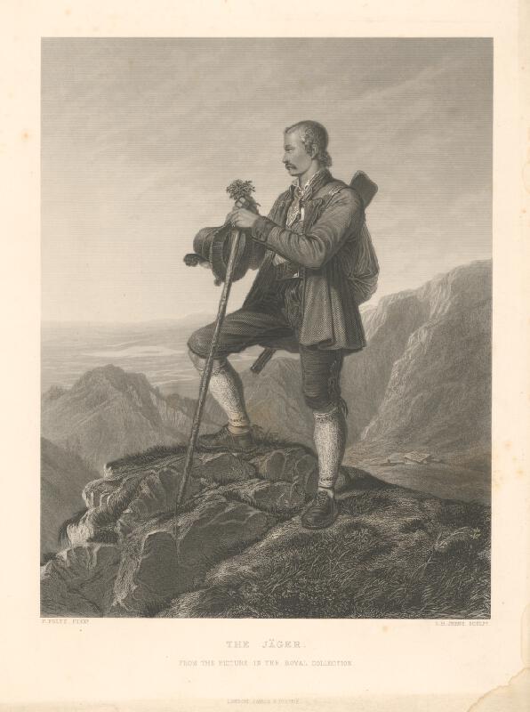 Charles Jeens, François Boucher - Poľovník