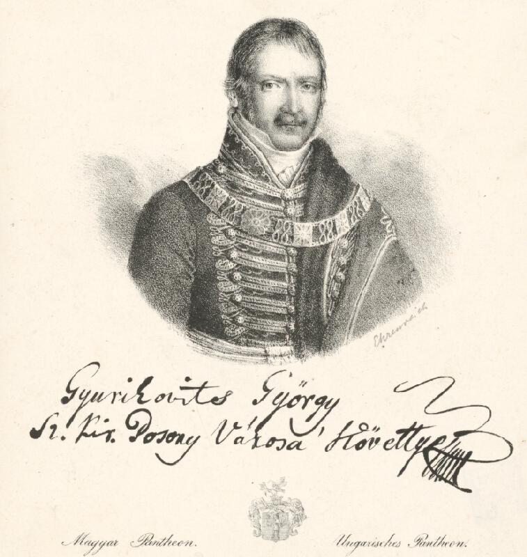 Adám Sándor Ehrenreich - Portrét Juraja Gyurkovitsa