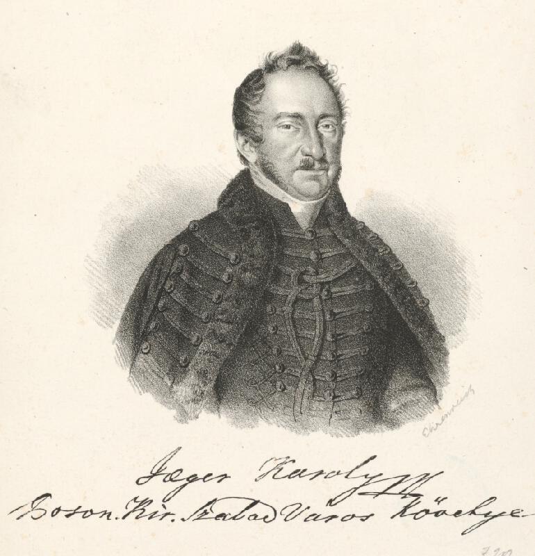 Adám Sándor Ehrenreich - Portrét Karola Jegera