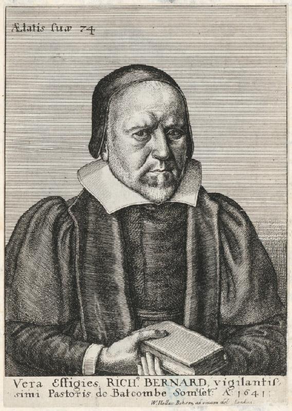 Václav Hollar - Portrét Bernarda Richarda