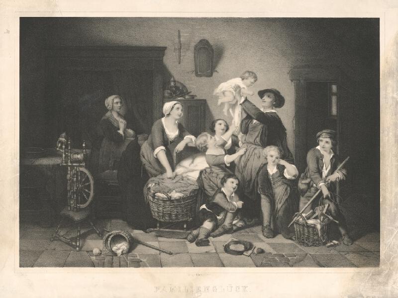 Friedrich August Frenzel - Rodinné šťastie