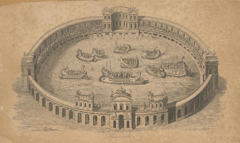 Stredoeurópsky grafik z 18. storočia - Naumachia