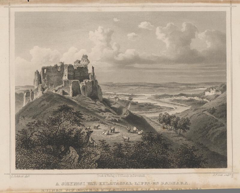 Ludwig Rohbock, A. Fesca - Solymošský hrad