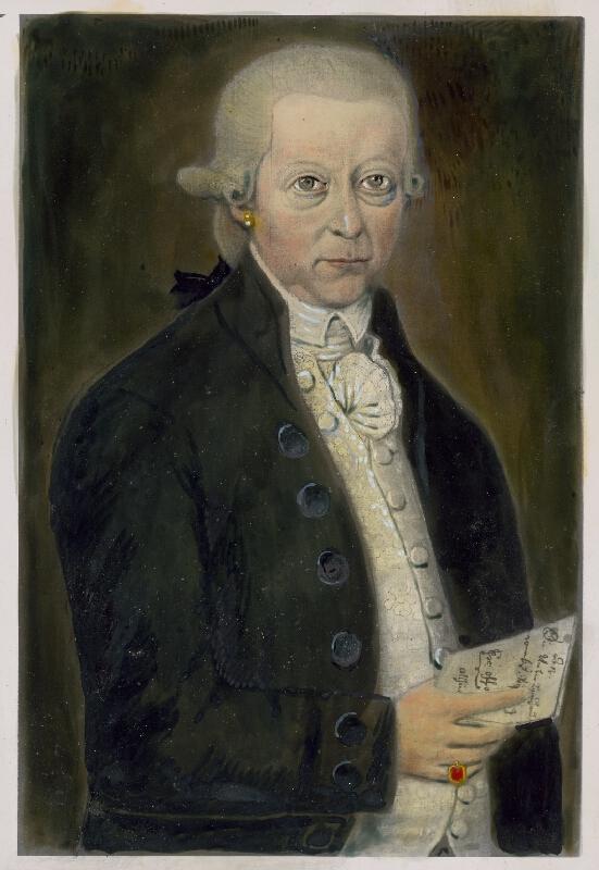 Stredoeurópsky maliar zo začiatku 19. storočia - Portrét Prudera Greila
