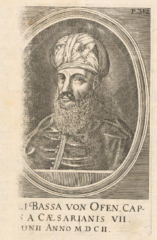 Stredoeurópsky grafik zo 17. storočia, Mathias van Somer - Solimanus Bassa von Ofen