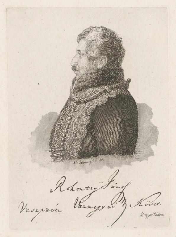 Ferdinand Karl Theodor Lütgendorff - Portrét Jána Robotsyho