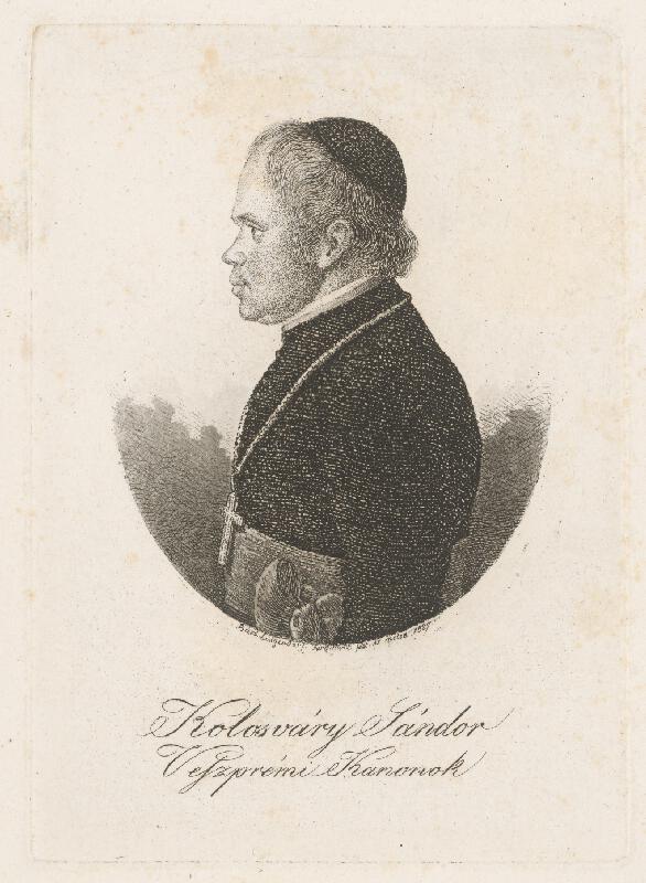 Ferdinand Karl Theodor Lütgendorff - Portrét Šándora Kolosváryho