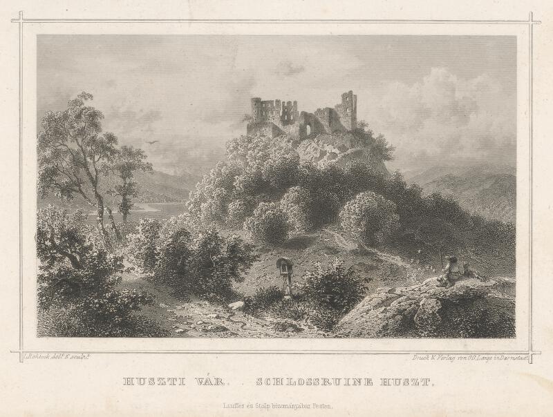 Ludwig Rohbock - Zrúcaniny hradu Huszt