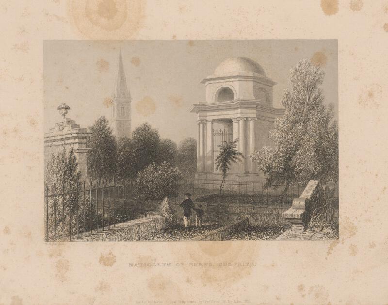 William Henry Bartlett, Henry Griffiths - Mauzoleum v Burnse