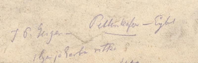 Franz Eybl, August von Pettenkofen, Peter Johann Nepomuk Geiger - Pamätný list k 50. výročiu arcivojvodu Jozefa ako uhorského palatína