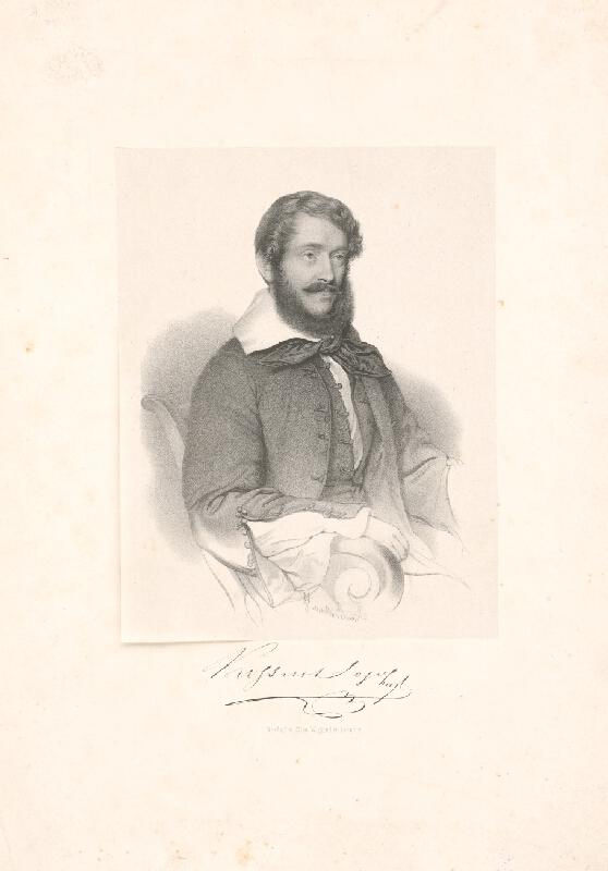 Stredoeurópsky grafik z 19. storočia - Kossuth Lajos