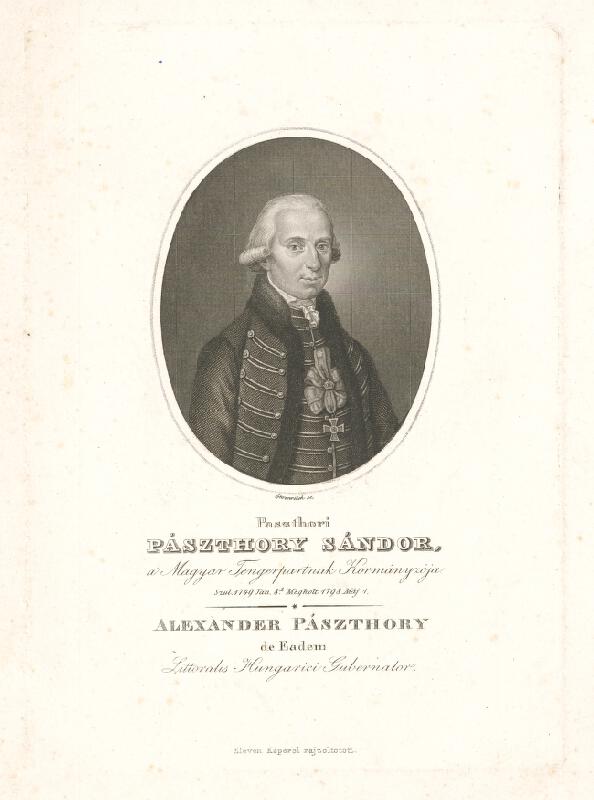 Adám Sándor Ehrenreich - Alaxander Pásztory