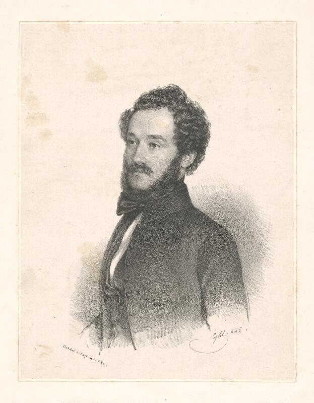Franz Eybl - Podobizeň mladého muža