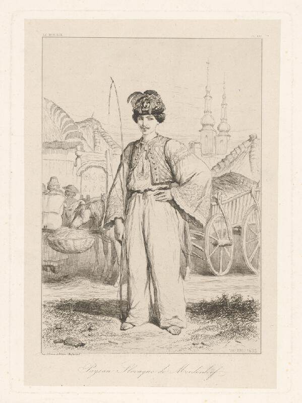 Théodore Valério - Slovenský sedliak z Modranky
