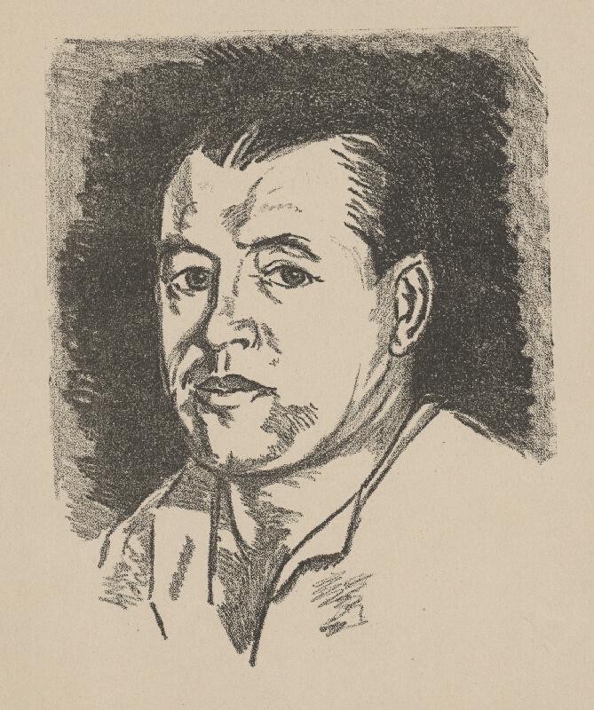 Stredoeurópsky grafik zo začiatku 20. storočia - Portrét Murmanna