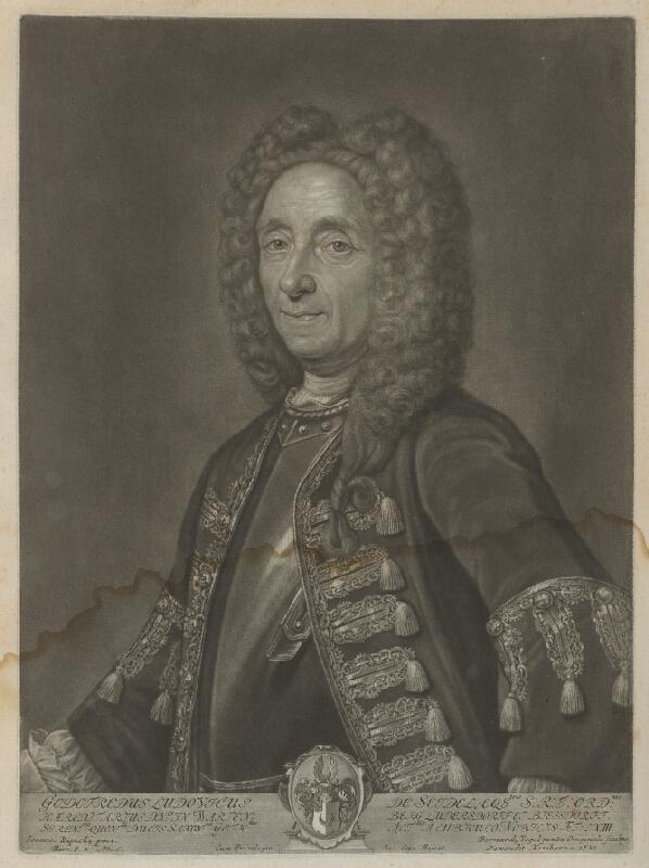 Ján Kupecký, Bernhard Vogel - Portrét baróna Gottfrieda Ludwiga Seidla