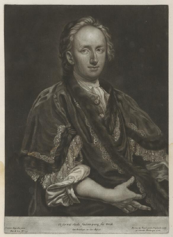 Ján Kupecký, Bernhard  Vogel - Portrét  Daniela Felixa Wussina