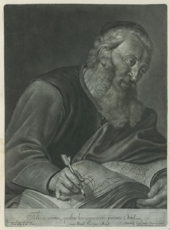 Ján Kupecký, Bernhard Vogel - Podobizeň filozofa - (Philosophus)