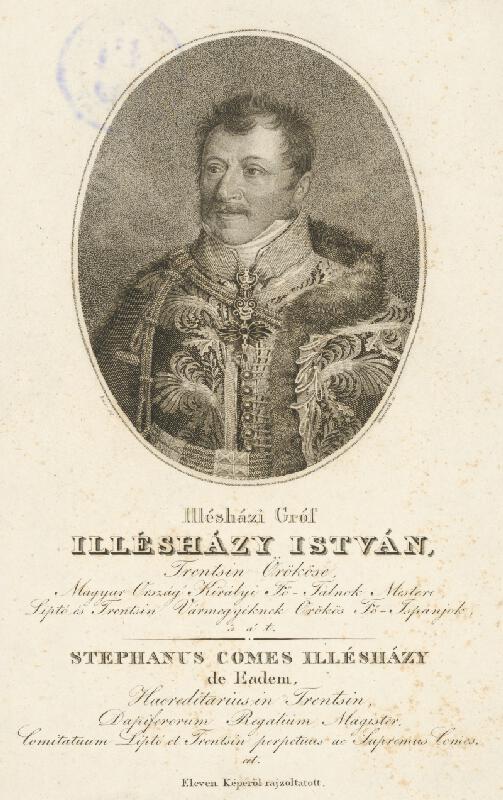 Adám Sándor Ehrenreich, Bauer - Portrét grófa J. Illésházyho