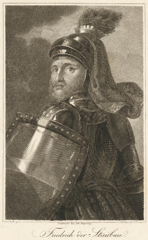 Carl Mahlknecht, Carl Heinrich Rahl - Portrét Kniežaťa Fridricha Bojovného