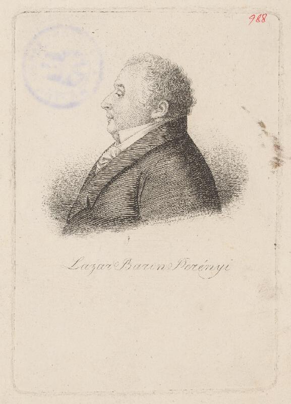 Ferdinand Karl Theodor Lütgendorff - Portrét kanonika Berenyiho