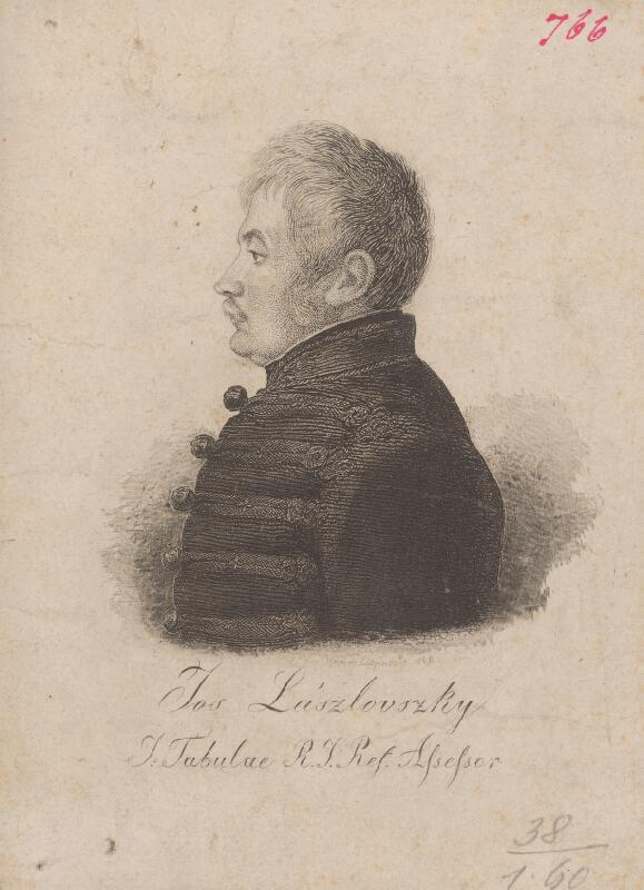Ferdinand Karl Theodor Lütgendorff - Portrét J.Lászlovského