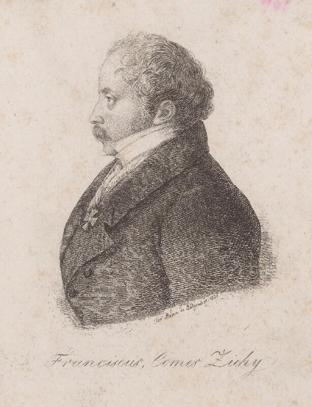Ferdinand Karl Theodor Lütgendorff - Portrét Ferdinanda Zichyho
