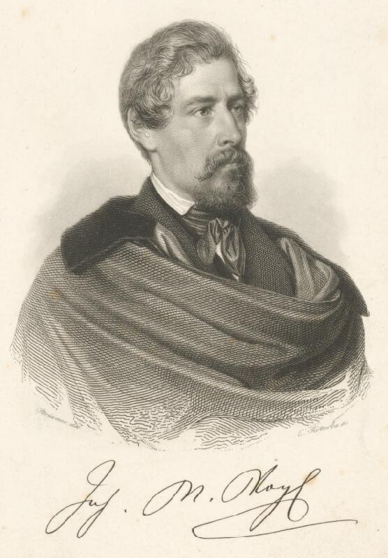 Karl Kotterba - Portrét Johanna M. Vogela