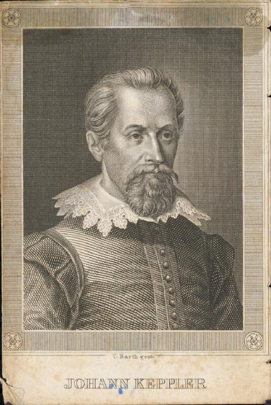 Carl Barth - Portrét Keplera