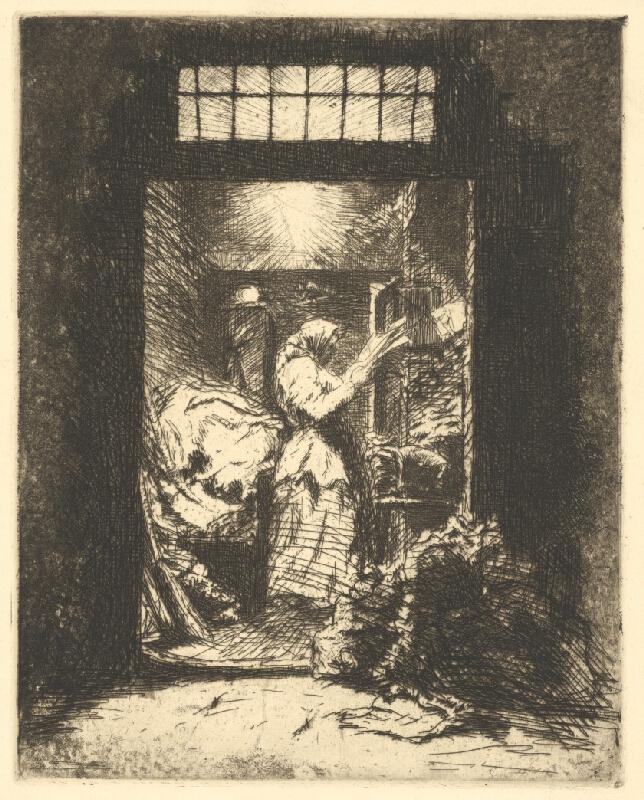 Stredoeurópsky grafik z 20. storočia - Večer