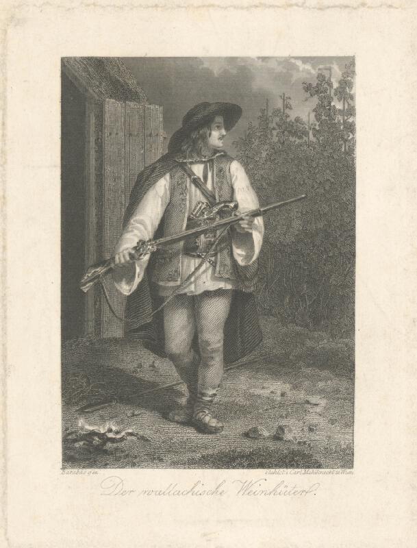 Miklós Barabás, Carl Mahlknecht - Valašský strážca vinohradov