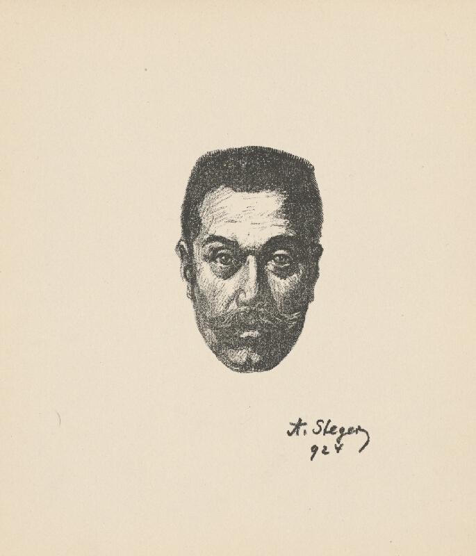 Anton Stéger - Autoportrét