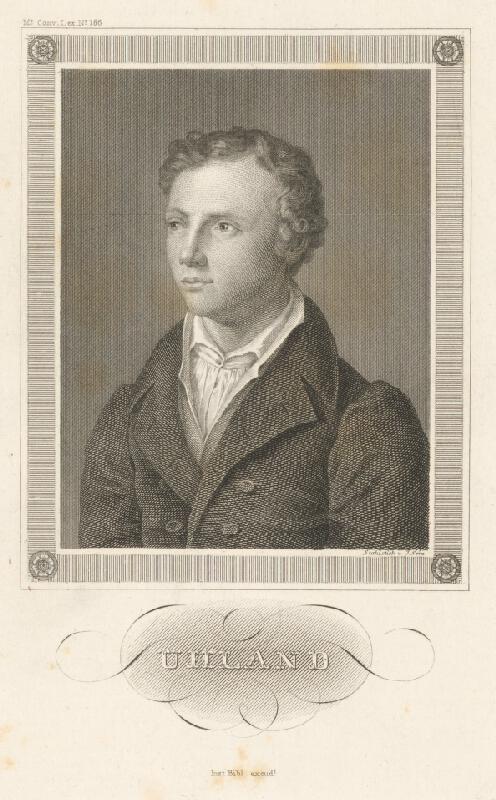 Johann Georg Serz - Portrét Uhlanda