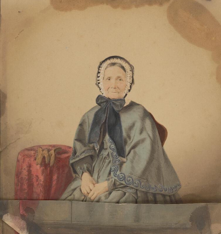 Stredoeurópsky autor z 19. storočia - Portrét pani Habermayerovej