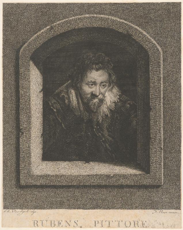 F. Neri, Anthony van Dyck - Portrét Rubensa