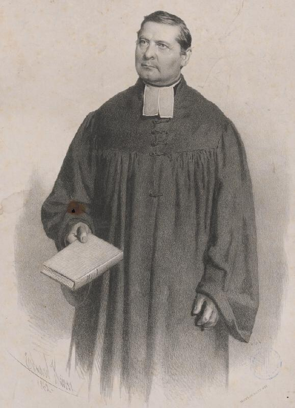 Eduard Kaiser - Portrét Johana Geyera