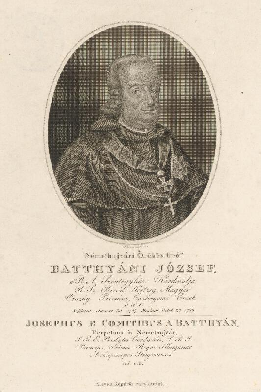 Adám Sándor Ehrenreich - Portrét Jozefa Batthányiho