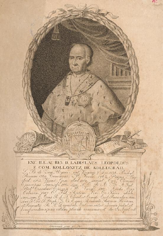Adám Sándor Ehrenreich - Portrét Leopolda Kollonitza