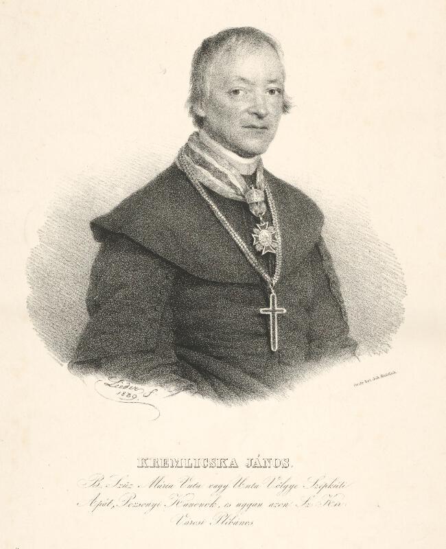 Friedrich Johann Gottlieb Lieder - Portrét Jána Kremličku