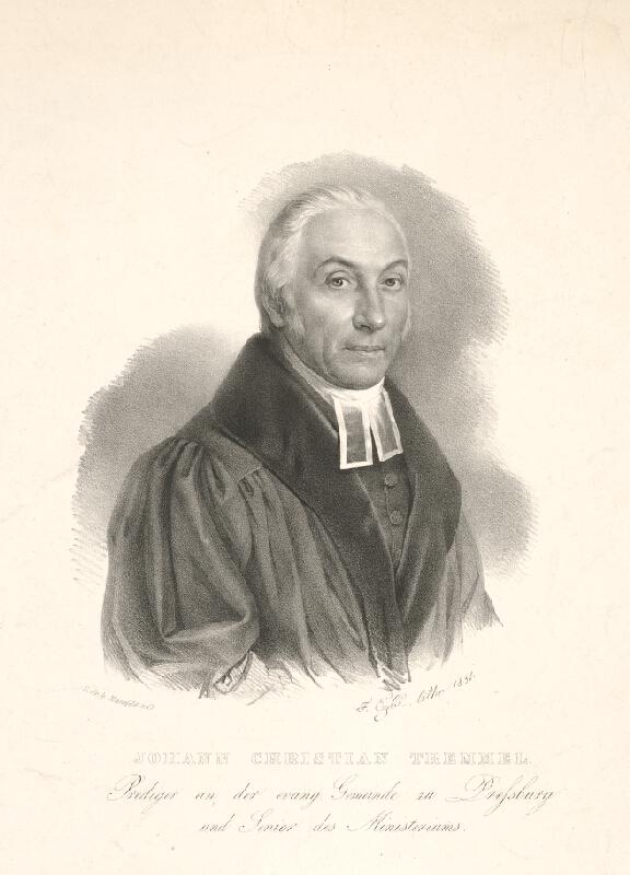 Franz Eybl - Portrét J. Kristiana Tremmela