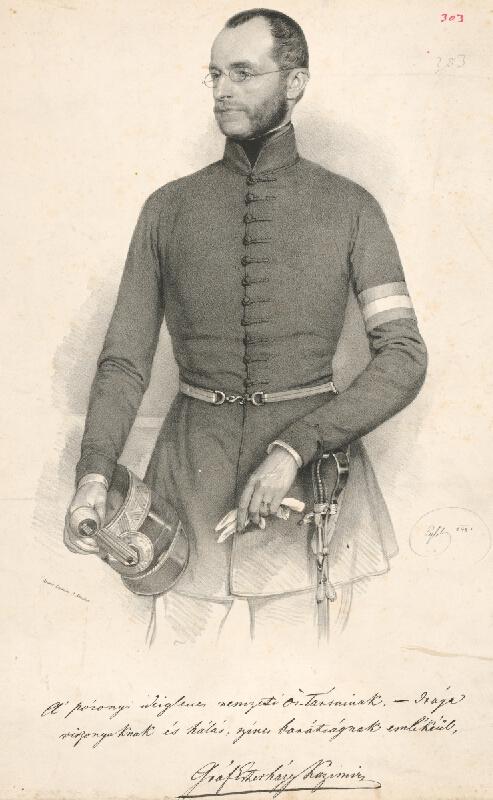 Franz Eybl - Portrét grófa K.Esterházyho