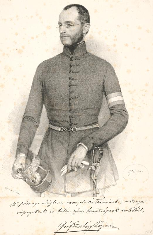 Franz Eybl - Portrét grófa K. Eszterházyho